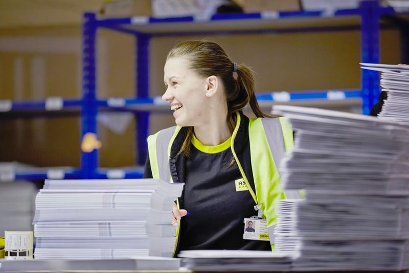 Asendia UK - smiling person